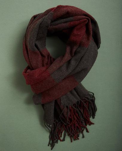 Sjaal met ruiten